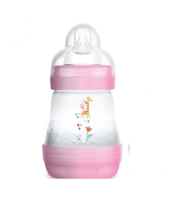 Mamadeira Mam Easy Start 160ml Rosa