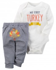 Conjunto Carter's Turkey Day - Menino