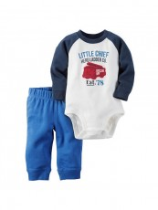 Conjunto Carter's Little Chief - Menino