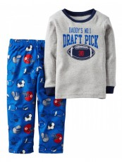 Pijama Carter's Fleece - Menino
