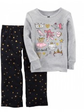 Conjunto Carter's Pijama Fleece Cat