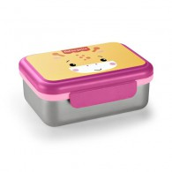 Bento Box Inox Fisher Price Rosa