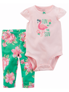 Conjunto Carter's Flamingo